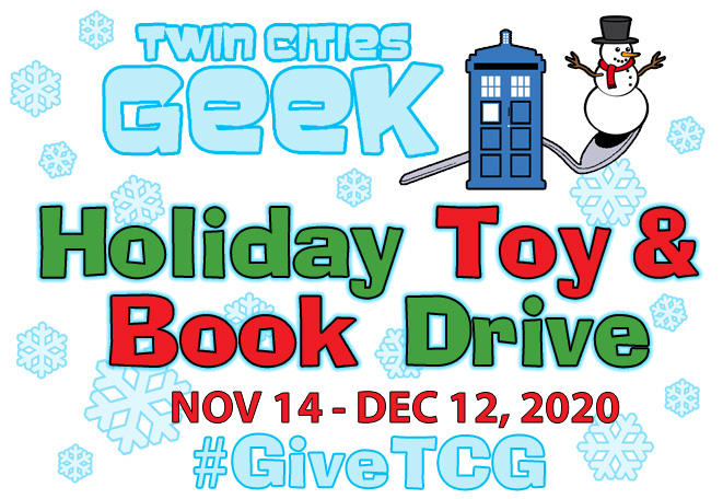 Twin Cities Geek Holiday Toy & Book Drive Nov 14-Dec 12 #GiveTCG
