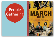 People Gathering March Book One