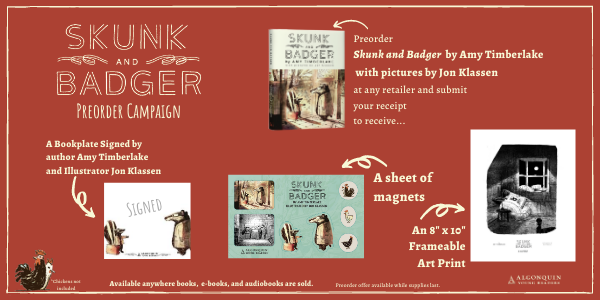 Skunk and Badger Preorder Campaign