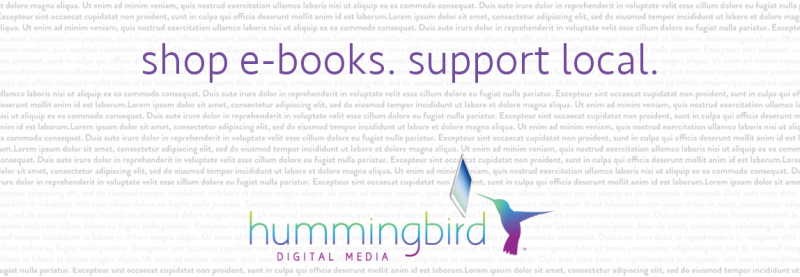 shop e-books. support local