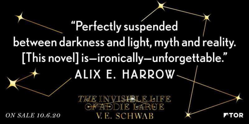 """Perfectly suspended between darkness and light, myth and reality. [This novel] is—ironically—unforgettable."" Alix E. Harrow"