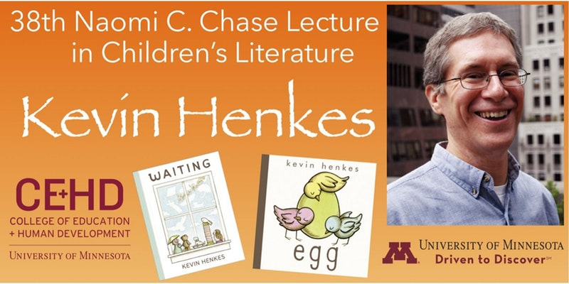 Naomi C. Chase Lecture in Children's Literature with Kevin Henkes