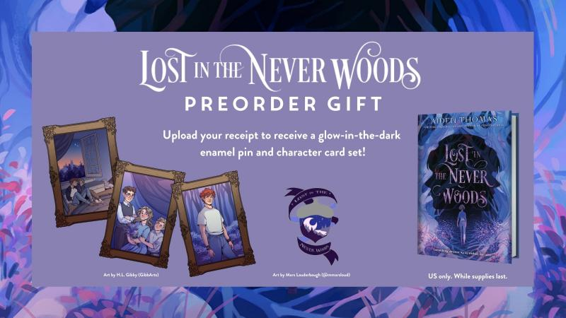 Lost in the Never Woods Preorder Gift
