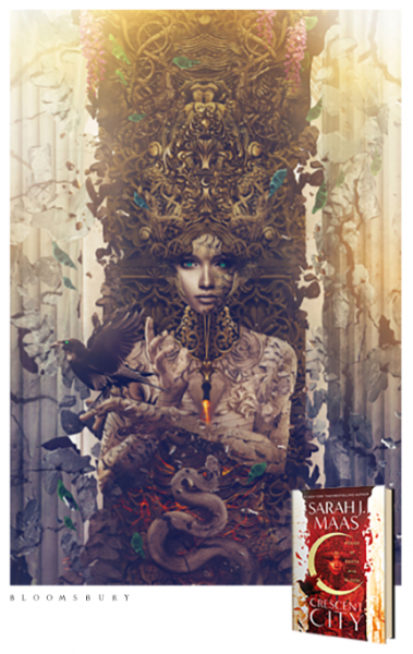 Sarah J. Maas exclusive art print